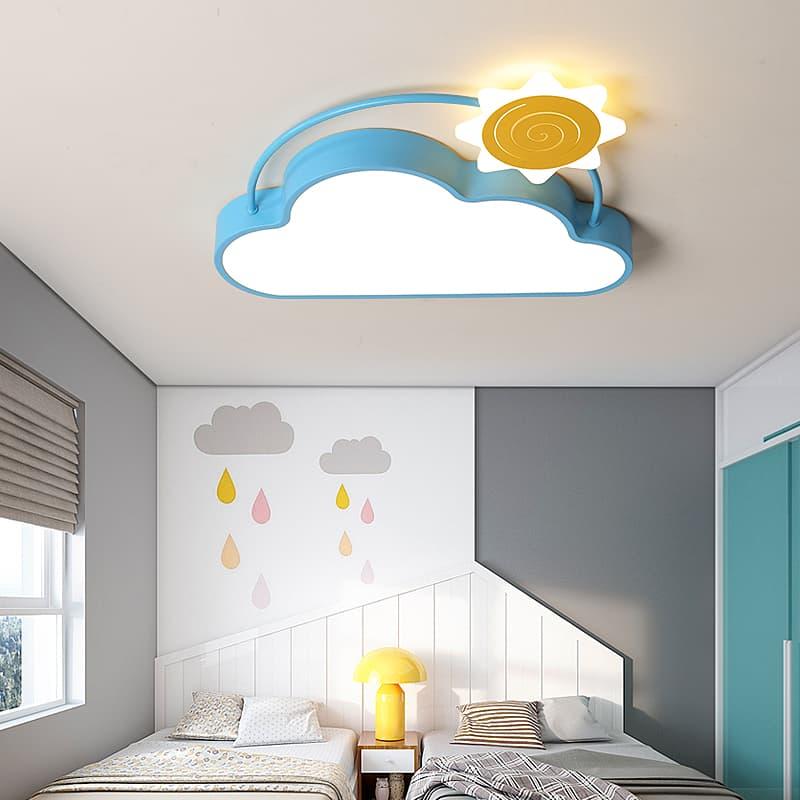 云朵+飞机+太阳儿童吸顶灯 001305