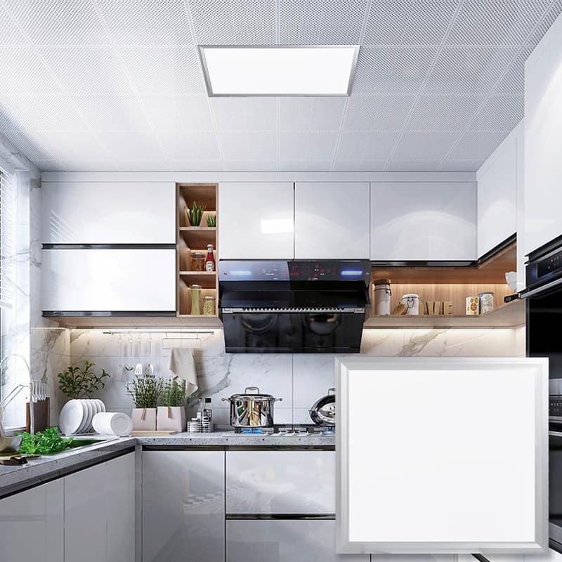 LED平板灯、面板灯、办公灯、厨卫灯、扣板灯2cm超薄系列 002103